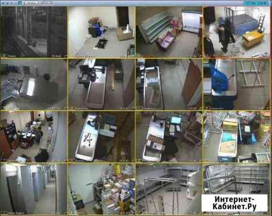 Установка видеонаблюдения и видеодомофонов Москва