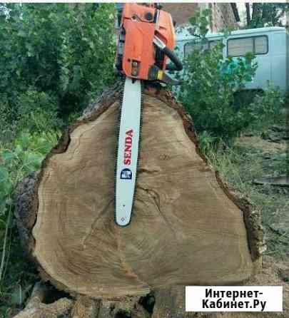Спил любых деревьев, вспашка земли мотоблоком Ставрополь