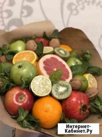 Вкусный букет (букет из фруктов, конфет, букет для Балашиха