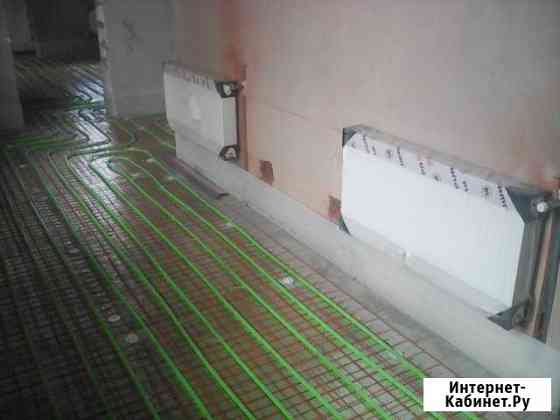 Автономное отопление,сантехнические работы Рязань