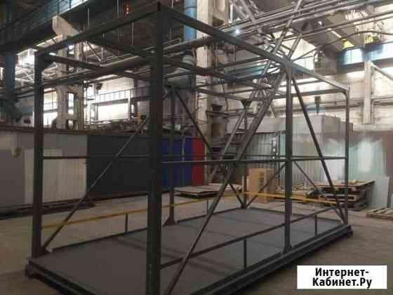 Монтаж металлоконструкции и сандвич панелей Санкт-Петербург