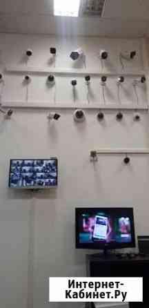 Установка видеонаблюдения с гарантией и поддержкой Москва