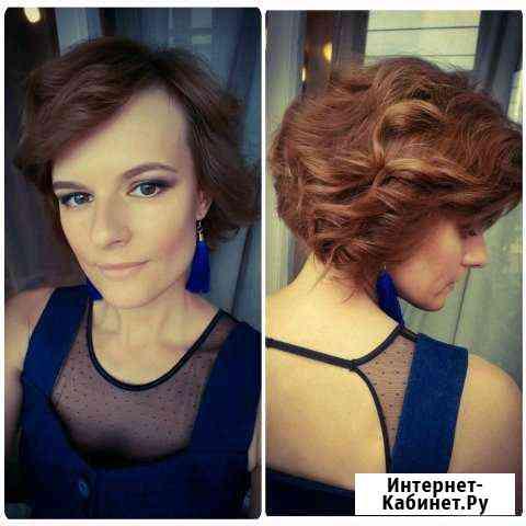Визажист-стилист, мастер по прическам Санкт-Петербург