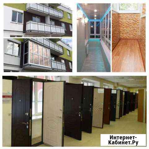 Двери вх. и меж., Балконы, Окна, Лоджии - под ключ Волгоград