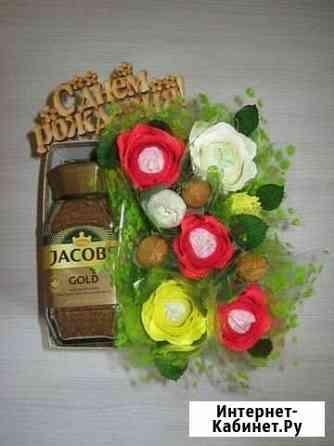 Букеты из конфет Киров