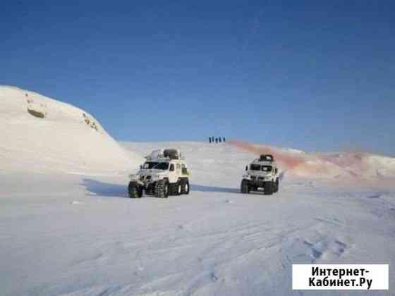 Аренда снегоболотохода трэкол перевозки Поселок искателей