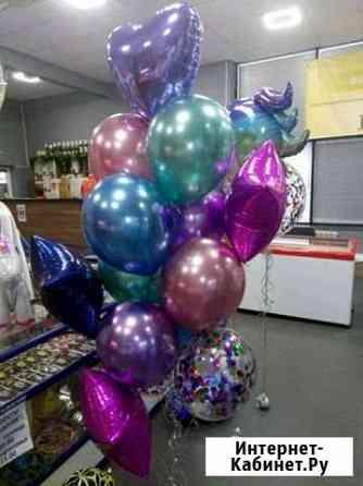 Воздушные шарики, гелиевые шары, шары баблс Волжский