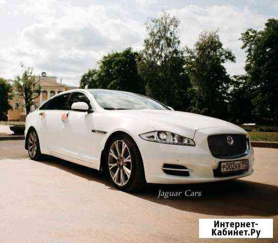 Авто на свадьбу Jaguar XJ Long машина на свадьбу Санкт-Петербург