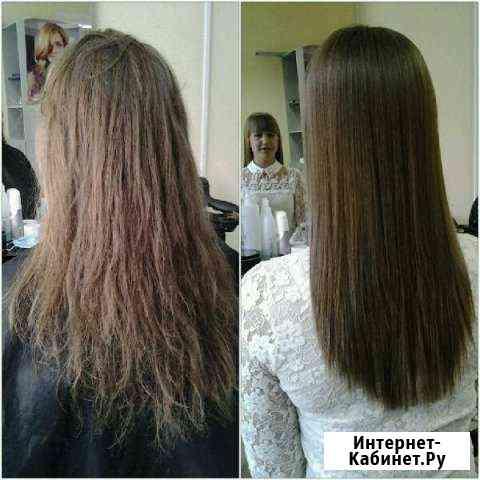 Кератиновое выпрямление И востановление волос Волжский