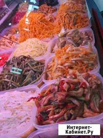 Корейские салаты Кызыл
