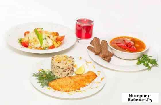 Комплексные обеды в офис и на стройку доставка еды Москва