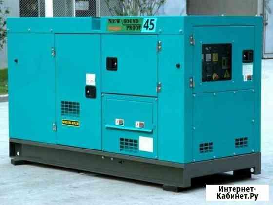 Аренда генератора 30 кВт Denyo в Рентпром Москва