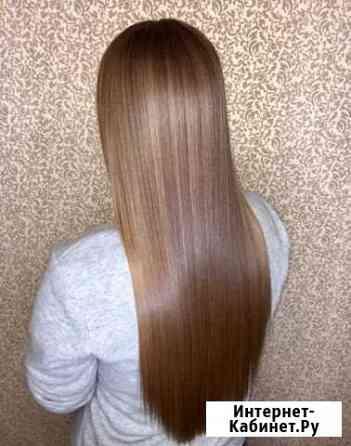 Кератиновое выпрямление, Ботокс волос Красноярск