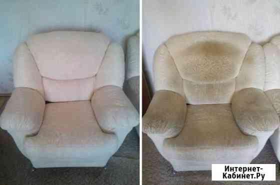 Клининг, химчистка мягкой мебели Приморский