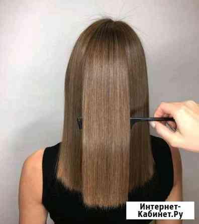 Кератиновое выпрямление.Полировка волос Краснодар