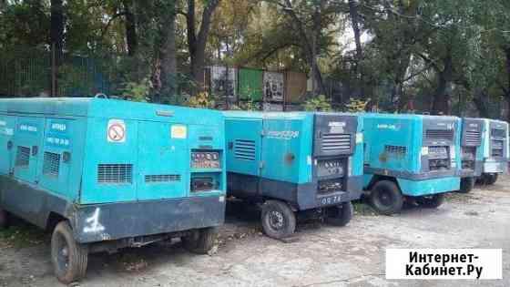 Аренда дизельного компрессора от 7 до 11 кг/см2 Москва