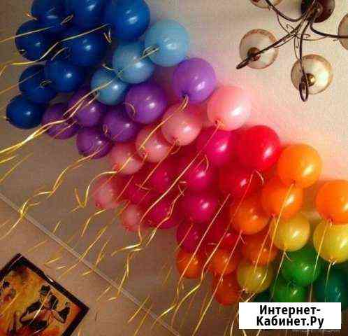 Воздушные гелиевые шары на Котлярова Краснодар