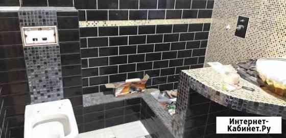 Плиточник. (Евроремонт ванны) Укладка кафеля. Сану Воронеж