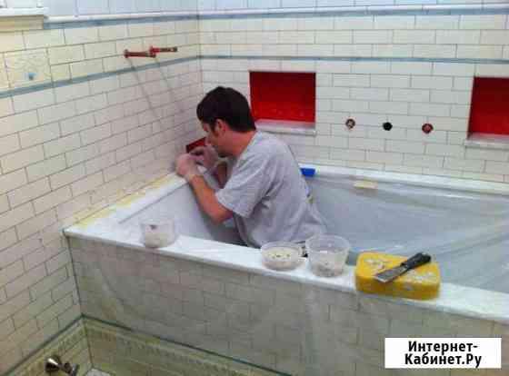 Плиточник Ремонт ванной под ключ Укладка плитки Тюмень