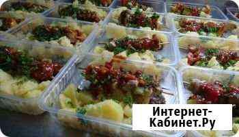 Доставка обедов, питание на объекте, рабочем месте Сочи
