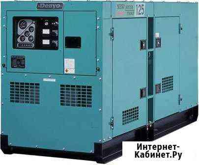 Аренда дизельного генератора 80 кВт в Энергоснаб Москва