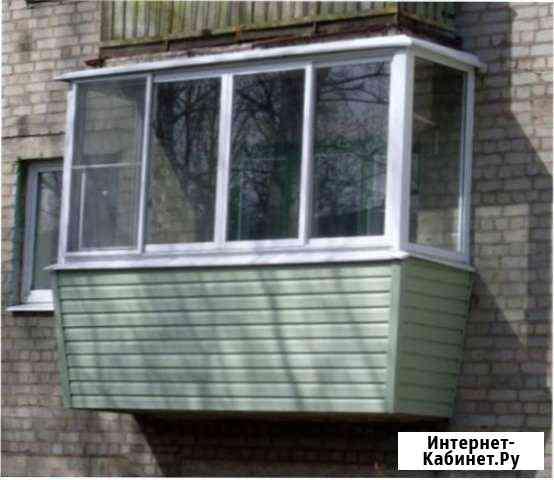 Остекление балконов Киров