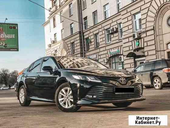 Аренда авто Toyota Camry XV70 Москва