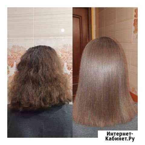Ботокс волос, кератиновое выпрямление Киржач