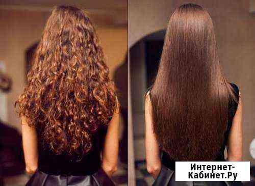 Кератиновое выпрямление, ботокс для волос Краснодар