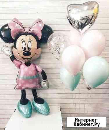 Воздушные шары, Гелиевые шары, Фольгированные фигу Казань