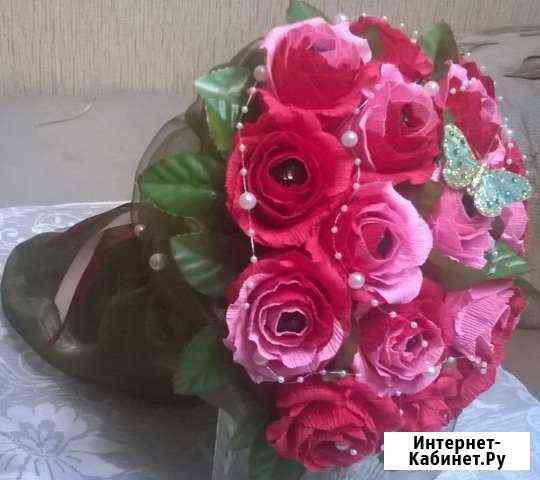 Букеты из конфет (на заказ) Ярославль