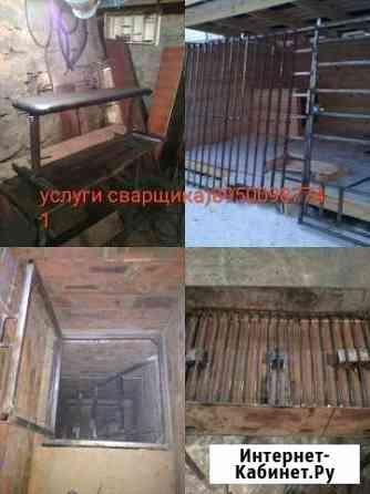 Услуги сварщика, изготовление металлоконструкций Шелехов