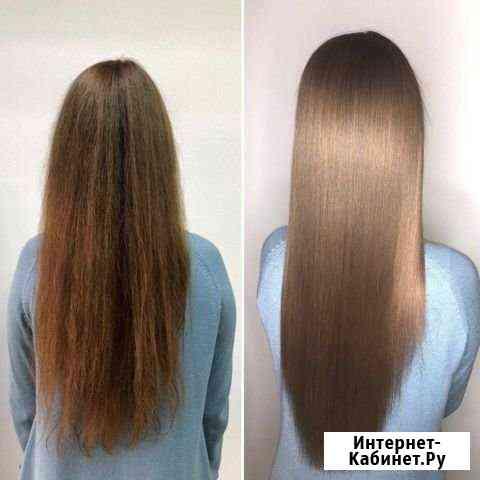 Кератиновое выпрямление, ботокс для волос Барнаул