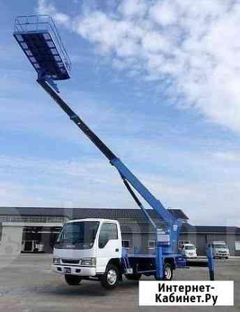 Автовышка 15 метров, наряжаем город Рыбинск