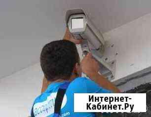 Установка видеонаблюдения под ключ Москва