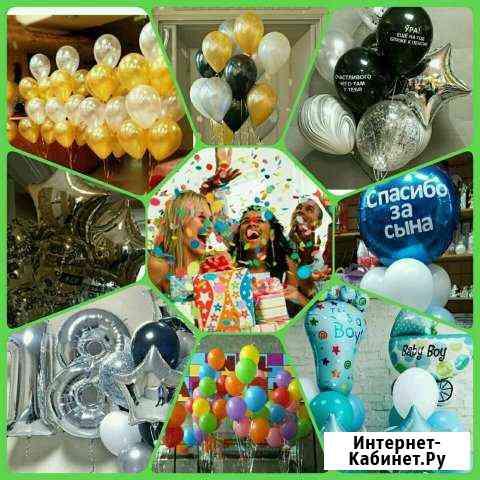 Гелиевые шары. Фонтаны из шаров. Шары фольга Обнинск