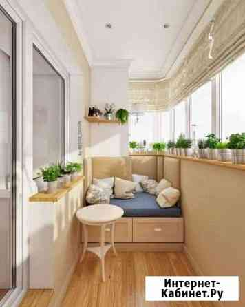 Ремонт и отделка балконов под ключ Сургут