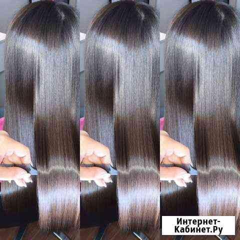 Полировка волос,ботокс,кератиновое выпрямление Казань