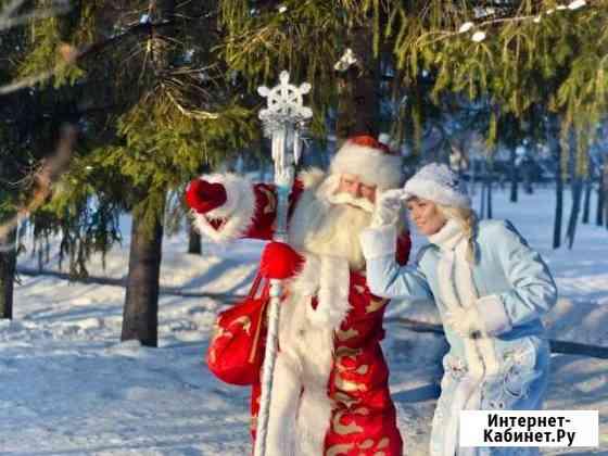 Дед мороз и снегурочка Киевский