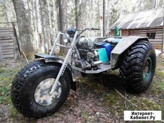 Вездеход каракат трицикл Ильинско-Подомское