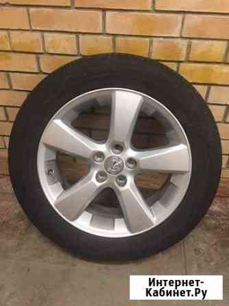 Шины Dunlop SP Sport 270, диски от Lexus RX350 Самара
