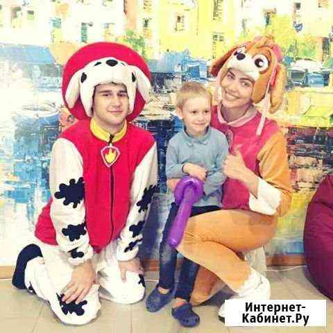 Аниматоры на детские праздники.В садик, домой Омск
