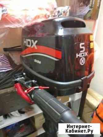 Лодочный мотор HDX F 5 BMS 4 тактный Ковров
