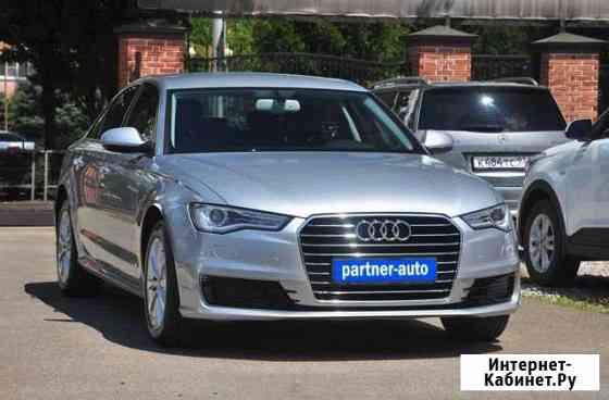 Audi A6 1.8AMT, 2016, 82000км Краснодар