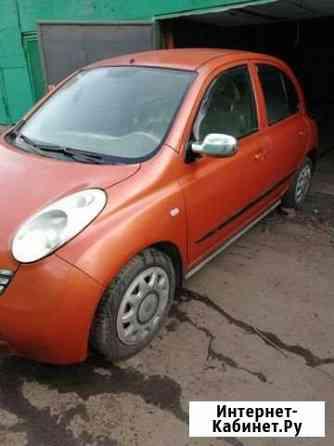 Nissan Micra 1.2МТ, 2004, битый, 57000км Москва