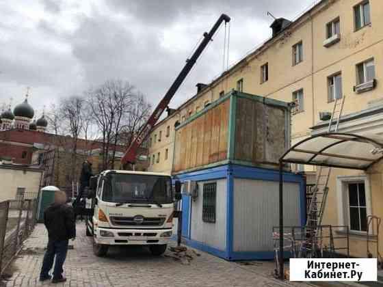Услуги Кран манипулятор метро Марьино Москва