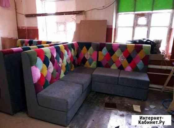 Перетяжка ремонт изготовление мягкой мебели Оренбург