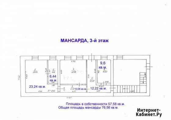 Помещение свободного назначения, 57.58 кв.м. Ульяновск