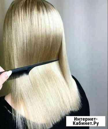 Кератиновое выпрямление и восстановление волос Уфа