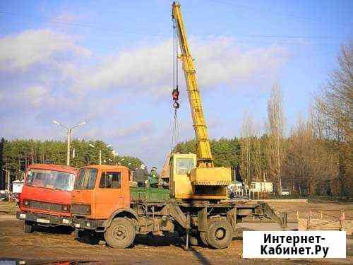 Аренда автокрана 14-40 тонн и аренда длиномера Дзержинск